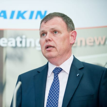 Daikin's managing director Peter Verkempynck