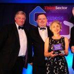 Chris Toon (Leicestershire Cares), Ian Hall (PTS) and Monica Kimche (Leicestershire Cares)