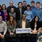Managing director Rajiv Bhatia and the Alternergy team