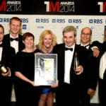 The ENER-G team celebrate success in The Manufacturer of the Year Awards