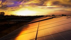 Solar cell on roof