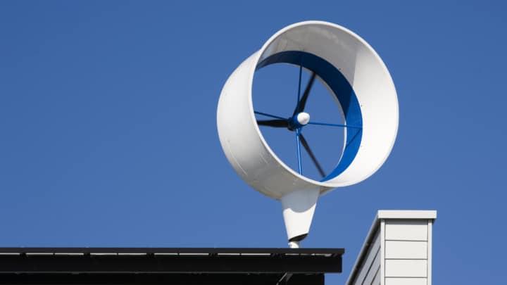 Domestic wind turbine