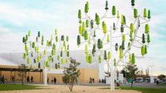 Wind trees