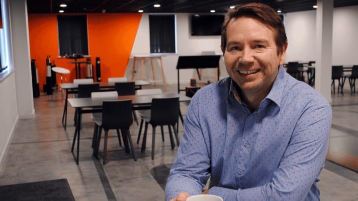 Vital Energi employee Giles Barker