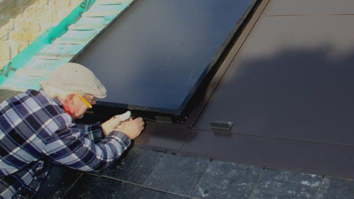 Grant solar thermal installation