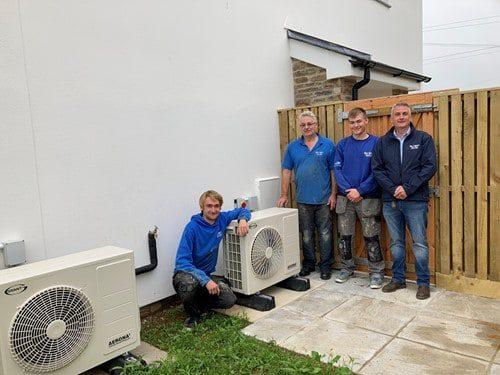 Grant heat pumps installed in Helston, Cornwall