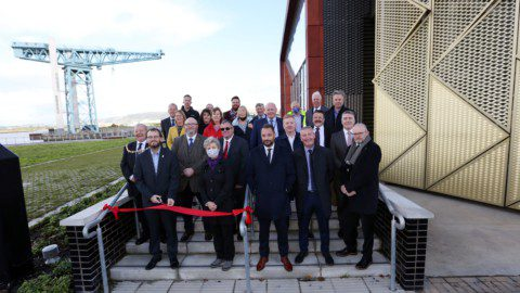 water source heat pump project opens in Scotland