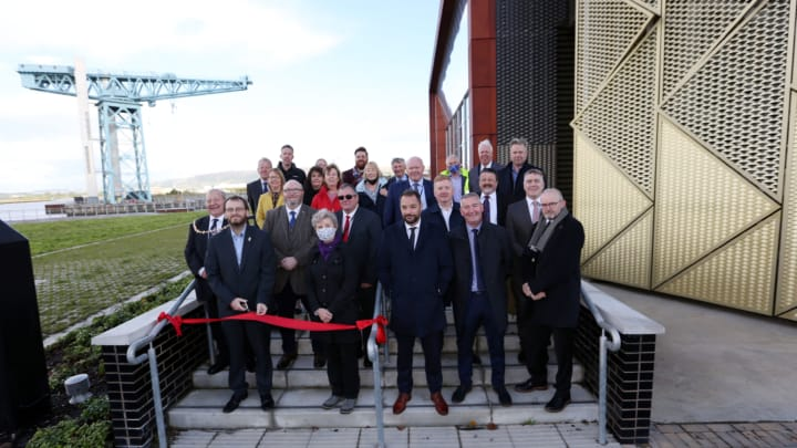 Energy centre officially opens